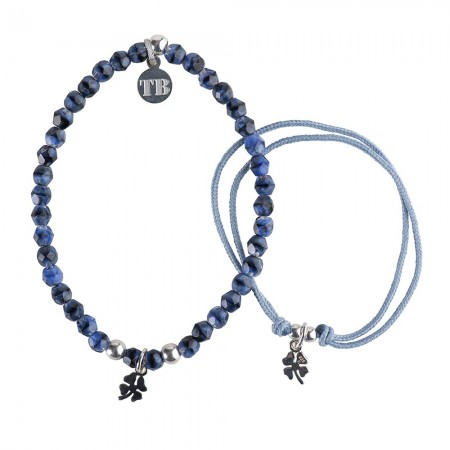 Bracelets Duo Duo Chance Bleu Denim