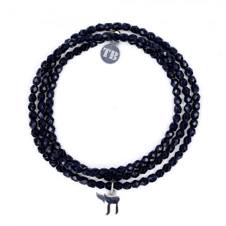 Bracelet 3 Tours Haï Marine