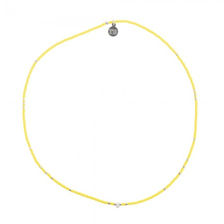 Collier 4 ELEMENTS SLIM Jaune