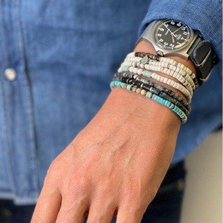 Bracelet Homme Nico Magnesite Bronzite