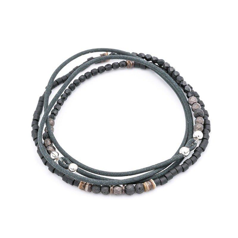 Bracelet 4 tours Alex Cuir