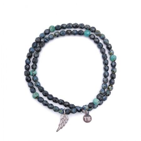 Bracelet Angel Noir Rock