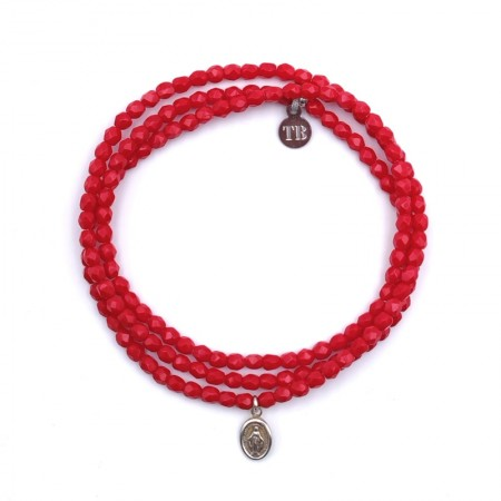 Bracelet petite madone 3 tours