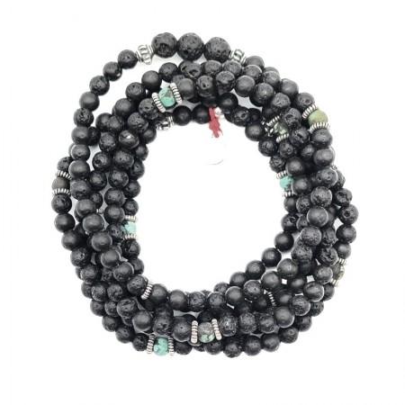Sautoir ou bracelet 6 tours